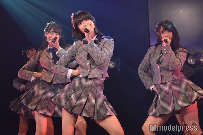 行天優莉奈、小田えりな、山本瑠香/AKB48チーム8「その雫は、未来へと繋がる虹になる。」公演 (C)モデルプレス