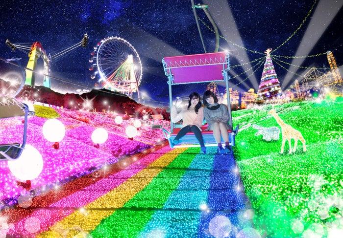 関東最大級600万球のイルミネーションイベント「さがみ湖イルミリオン」/画像提供:富士急行