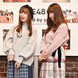 高柳明音、松村香織 (C)モデルプレス