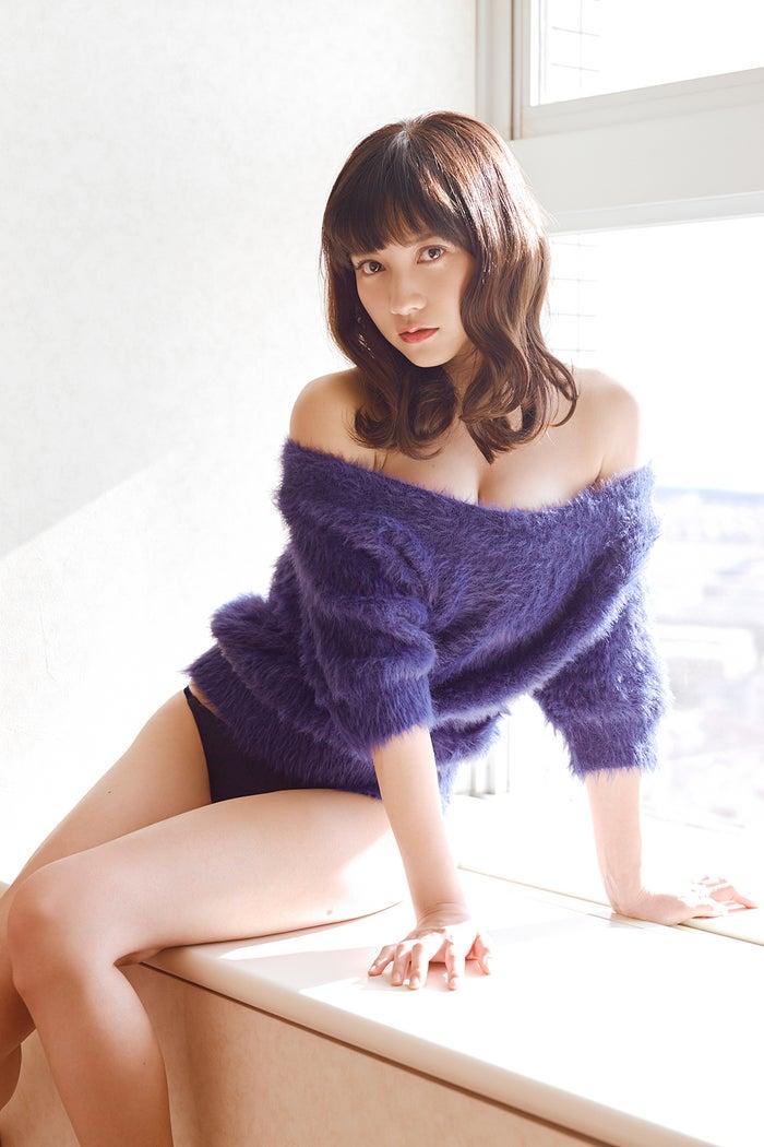 <アザーカット>桃月なしこ(C)熊谷貫/週刊プレイボーイ