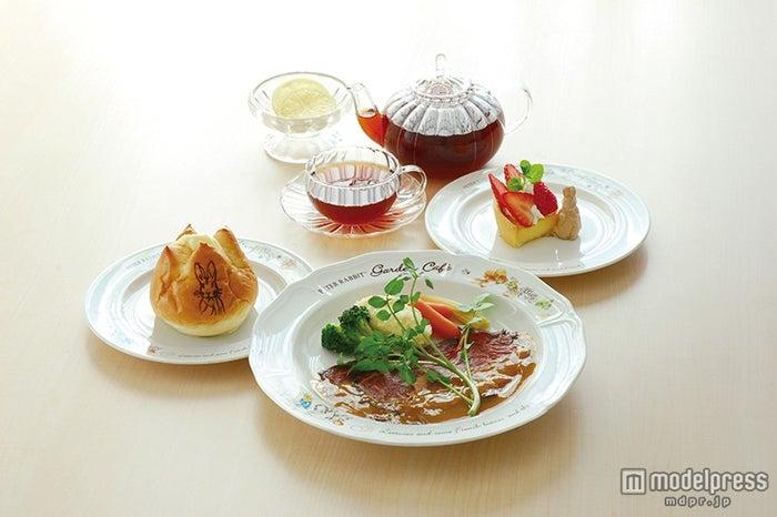「ポターさんのブリティッシュディナー【ドリンク付】ローストビーフコース」2,600円