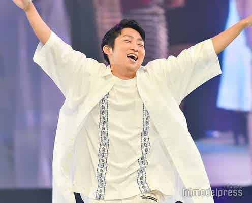 ノンスタ石田明「神コレ」サプライズ登場で歓声<神コレ2019A/W>