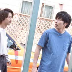 横浜流星、田中圭/「あなたの番です」第16話より(C)日本テレビ