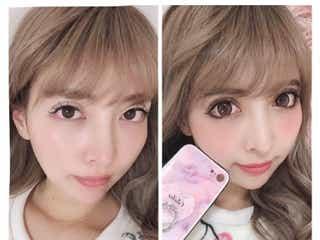 整形公表双子モデルの妹・吉川ちか、すっぴん&メイク比較写真を公開 新たな整形願望も明かす