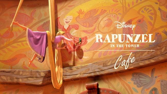 「塔の上のラプンツェル」OH MY CAFE(C)Disney