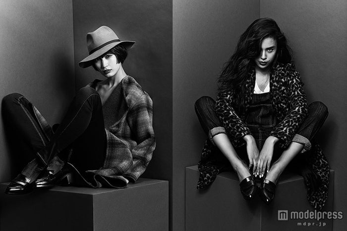 黒田エイミ、大屋夏南らがクールに魅了「GYDA」新たな試みへ/モデル:黒田エイミ、大屋夏南(左より)【モデルプレス】