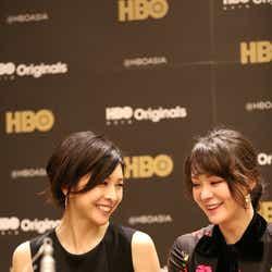 竹内結子、貫地谷しほり(C)2018 HJ HOLDINGS, INC & HBO PACIFIC PARTNERS, V.O.F