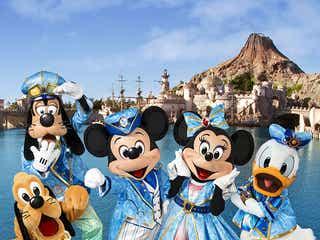 ディズニーシー15周年記念、ミッキーが全国15都市でパレード開催