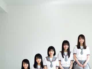 乃木坂46 新4期生、制服で初々しさ溢れるグラビア