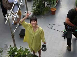 渡邊圭祐が撮影、水川あさみのキュートな笑顔 ドラマ「love distance」でフォトグラファー役