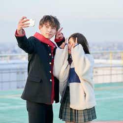とらい、ヒナ「恋する◆週末ホームステイ 2021冬 Tokyo」(C)AbemaTV, Inc.