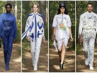 【ロンドン・ファッションウィーク・セプテンバー2020】バーバリー 英国の大自然を背景に