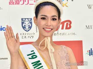 「ミス・インターナショナル2019」グランプリ決定 タイ代表のスィリートン・リアラワットさん