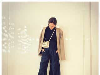 第1子妊娠の桐谷美玲、私服コーデに「妊婦に見えない」の声