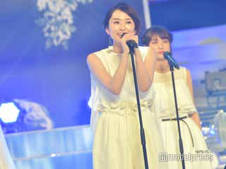 島袋寛子「White Love」熱唱でSPEED時代を「思い出した」 フェアリーズらとコラボ<24時間テレビ41>
