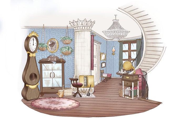 ムーミン屋敷(C)Moomin Characters TM