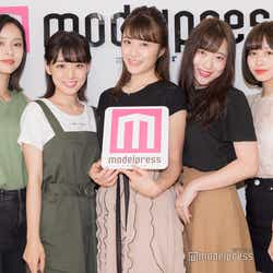 「ミス立教」ファイナリスト/左から:西村春香、鴻野加奈、西村香也子、前原澄鈴、京徳果音(C)モデルプレス