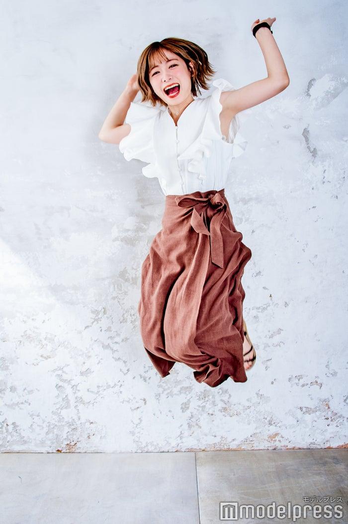 喜びを全身で表現(C)モデルプレス
