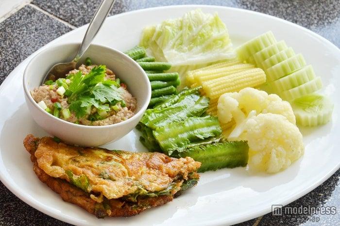 野菜をたくさん摂れる「Nam Prik Pla Yang」