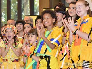 Foorin team E、突然の流暢な日本語に会場ざわつく 村上信五「本番にとっておいてよ!」<ABUテレビソングフェスティバル>