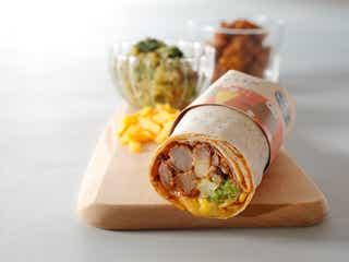 スタバ「メキシカンビーフ ホットサラダラップ」温めて食べる冬の新作フード