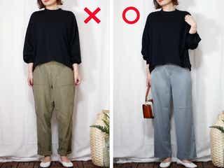 太もも&腰のハリに!ユニクロ新作パンツは体型カバー力がスゴイ♡