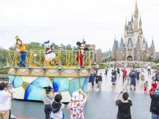 東京ディズニーランド&シーきょうから営業再開 社会的距離保ってゲスト歓迎