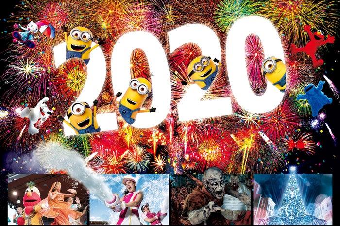 ユニバーサル・カウントダウン・パーティ 2020/画像提供:ユニバーサル・スタジオ・ジャパン