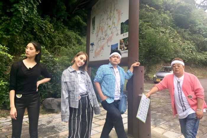 菜々緒、滝沢カレン、富澤たけし、伊達みきお (画像提供:テレビ朝日)