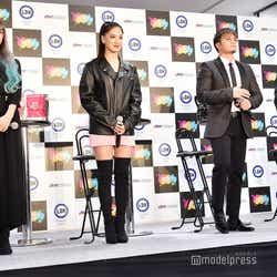 須田アンナ、藤井夏恋、数原龍友、白濱亜嵐 (C)モデルプレス