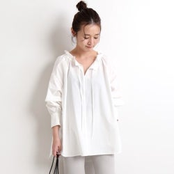 大人のロマンティックは白で作る!ちょっぴり甘めのホワイトシャツ・ブラウス