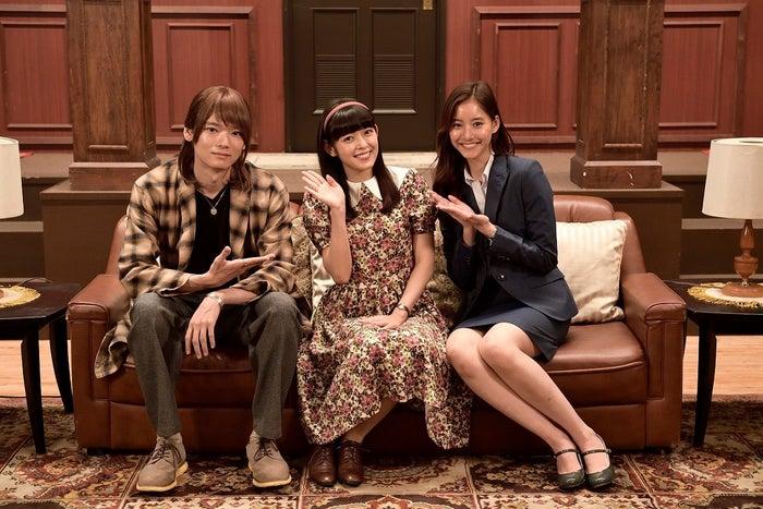 古川雄輝、矢作穂香、新木優子 (画像提供:テレビ朝日)
