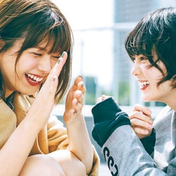 欅坂46平手友梨奈&渡邉理佐、2年9ヶ月ぶり「non・no」で共演 2人の関係を語る