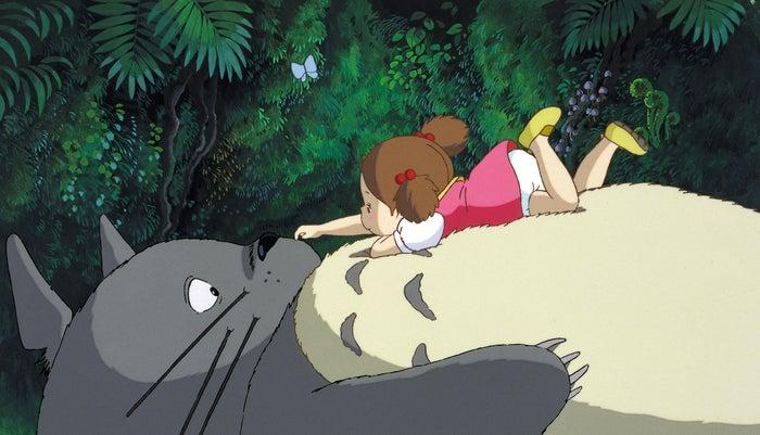 となりのトトロのワンシーン(C)1988 Studio Ghibli