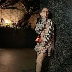 浜崎あゆみ、メガネ&美脚ロングブーツコーデの写真公開で「綺麗な脚」「可愛いすぎてヤバい」