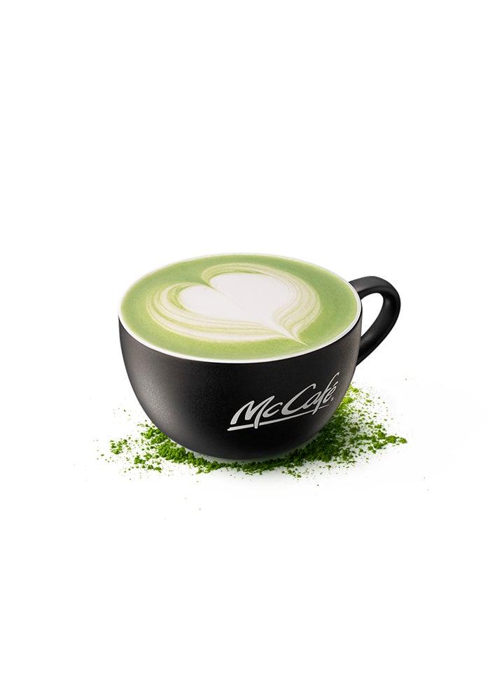 抹茶ラテ/画像提供:日本マクドナルド