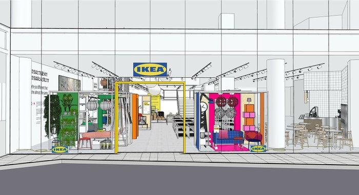 IKEA原宿イメージ/画像提供:イケア・ジャパン
