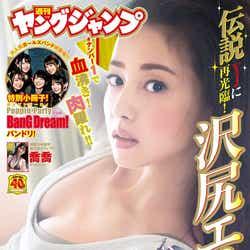 「週刊ヤングジャンプ」41号(9月12日発売)表紙:沢尻エリカ(C)半沢健/集英社