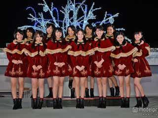 国民的美少女軍団・X21、サンタガールで新曲披露 「今までで一番嬉しい」サプライズ発表も