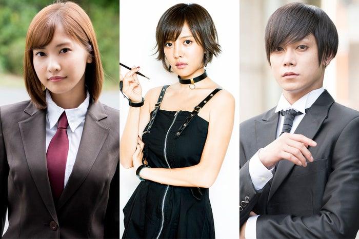 「咲-Saki-」の実写ドラマ・映画に出演する(左から)佐野ひなこ、夏菜、玉城裕規(C)小林 立/SQUARE ENIX・「咲」プロジェクト