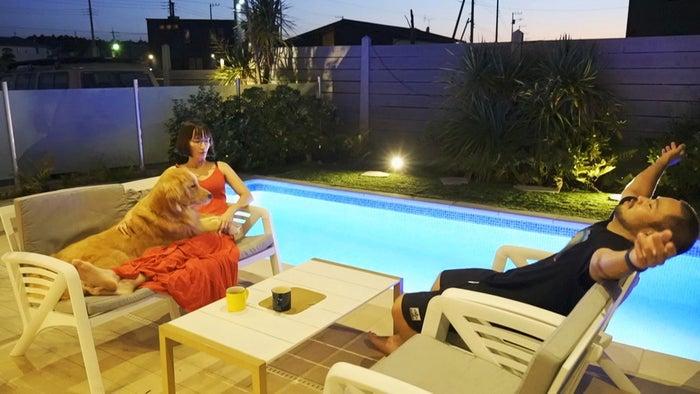 FINE GLAMPING Doggies Pool Villa/画像提供:FINE GLAMPING