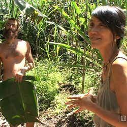 ハワイ島の森の中で暮らす日本人妻・ケイコさんと夫・リッチさん/画像提供:毎日放送
