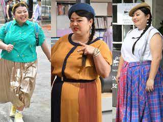 「カンナさーん!」渡辺直美、絶妙バランスのカラフルコーデが可愛い!着こなしのポイントは?