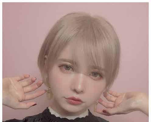 """益若つばさ、""""人生で一番短い""""マッシュショートに劇的イメチェン 「お人形かな?」「めっちゃ似合ってる」と絶賛の声"""
