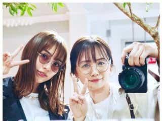 """内田理央&菅本裕子「運命だ」""""ばったり遭遇""""ショット公開"""