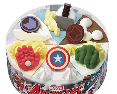 サーティワン「マーベル アベンジャーズ/パレット6」アイアンマンら6ヒーローが初のアイスケーキに!
