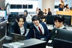 三浦翔平、松岡広大、早乙女太一/『会社は学校じゃねぇんだよ』より(C)AbemaTV