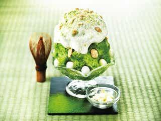 PABLO史上初、チーズかき氷が登場 宇治抹茶タルトをイメージ
