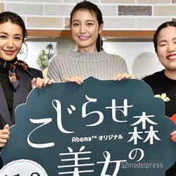 鈴木紗理奈、木下優樹菜、ゆりやんレトリィバァ(C)モデルプレス