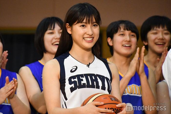 「映画『春待つ僕ら』バスケ部激励イベント」に出演した土屋太鳳 (C)モデルプレス